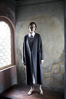 """Kabáty - ZĽAVA! Kabát z kolekcie """"PIZZA OR CAVIAR?"""" - 10301162_"""