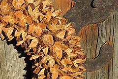Dekorácie - Prírodný veniec Fagus (Natur) - 10301126_