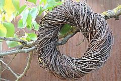 Dekorácie - Prírodný veniec Betula (Kvety) - 10301462_