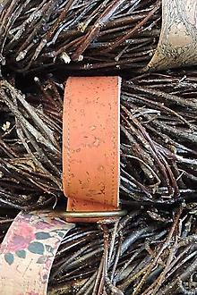Dekorácie - Prírodný veniec Betula (Orange) - 10301481_