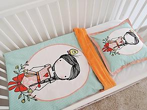 Textil - Sada - dievčatko s vrkočom - 10301235_