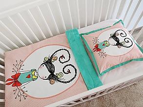 Textil - Sada - dievčatko so srdiečkom vo vlasoch - 10301279_