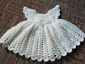 Šaty - Šaty na krst - 10300698_