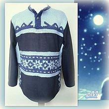 Oblečenie - Mikina fantázia - hviezdy. - 10301432_