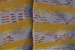 - Tkané koberce béžovo-žlto-oranžovo-hnedé - 10300336_