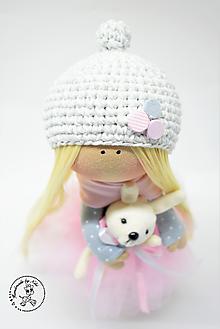 Bábiky - Bábika v ružovom - 10305029_