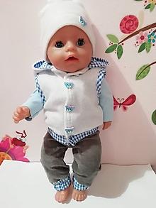 Hračky - Oblečenie pre bábiku Baby born v. 43 cm - 10306431_