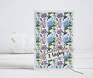 Pozdrav štýlový - Kvetiny B