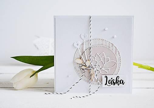 349c71f26571 Svadobný pozdrav - Lotosový kvet II   MMdesign - SAShE.sk - Handmade ...