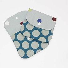 Taštičky - Bavlnená kapsička, taštička - Bodka - 10303824_