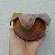 Dekorácie - ...plstená váza... - 10306406_