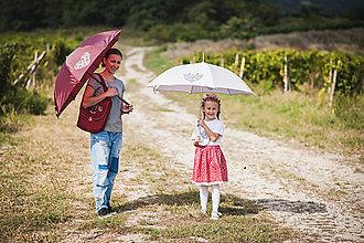 Iné doplnky - Pršííí, pršíííí - dáždnik folk - 10303519_