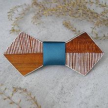 """Doplnky - Drevený motýlik """"Linear Butterfly"""" - 10305651_"""