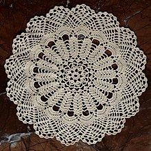 """Úžitkový textil - Čipka """"Marshmallow"""" - 10305561_"""