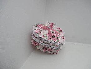 Krabičky - Krabička od srdiečka - 10305583_