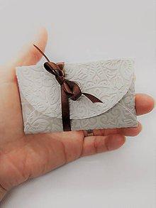 Papiernictvo - Mini obálka 9 x 5,5 cm - 10306023_