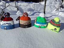 Čiapky - Zimné čiapky z Roháčov ⛄ - 10304192_