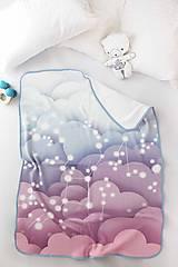 Textil - Dievčenská deka