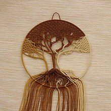 Dekorácie - Macramé dekorácia - 10305217_