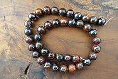 Minerály - Tigrie oko so železom 10mm - 10306659_