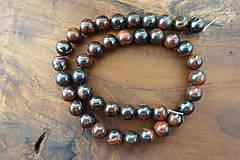 Minerály - Tigrie oko so železom 10mm - 10306660_