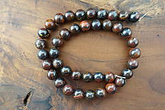 Minerály - Tigrie oko so železom 10mm - 10306663_