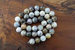 Minerály - Opál africký biely 1 - 10mm - 10306717_