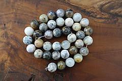 Minerály - Opál africký biely 1 - 10mm - 10306718_