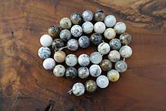 Minerály - Opál africký biely 1 - 10mm - 10306722_
