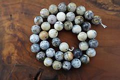Minerály - Opál africký biely 1 - 10mm - 10306726_