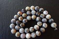 Minerály - Opál africký biely 1 - 10mm - 10306743_