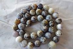 Minerály - Opál africký biely 1 - 10mm - 10306744_