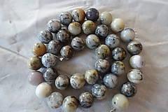 Minerály - Opál africký biely 1 - 10mm - 10306746_