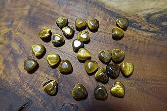 Minerály - Tigrie oko srdiečko - 10304470_
