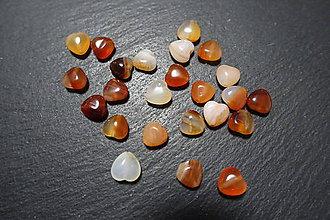 Minerály - Karneol srdiečko - 10304498_