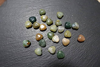 Minerály - Achát indiánsky srdiečko 2 - 10304576_