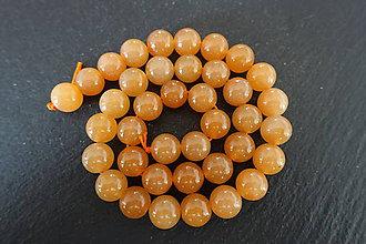 Minerály - Aventurín oranžový 1 - 10mm - 10306554_