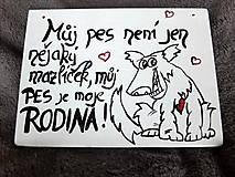 Kresby - Buková destička...pes :-D - 10303686_