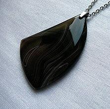 Náhrdelníky - Onyxový - 10304985_