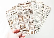 Obalový materiál - Papierová obálka / vrecko