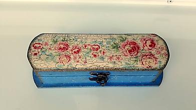 Krabičky - vintage krabička / púzdro,peračník/ - 10305495_