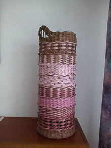 Košíky - Stojan na dáždniky hnedoružový - 10304465_