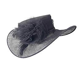 Čiapky - Spoločenský klobúk - 10303801_