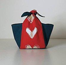 Iné tašky - Lunchbox - srdíčkový - 10308097_