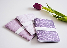 Papiernictvo - 3 zápisníky - fialové II - 10309486_