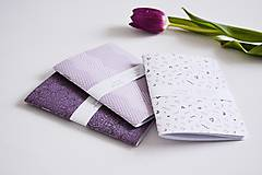 Papiernictvo - 3 zápisníky - fialové I - 10309509_