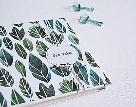 Papiernictvo - Mini album - lístky 15 x 15 cm - 10309593_