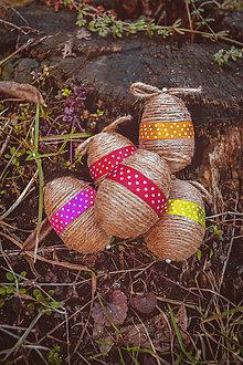 Dekorácie - Veľkonočné vajíčko - bodka - 10306869_