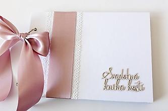 Papiernictvo - svadobná kniha hostí - 10307965_