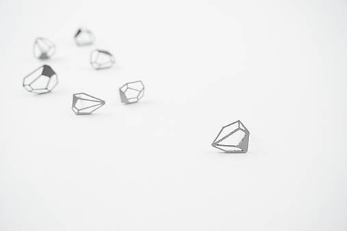 Náušnice - náušnice stone 3 - 10307765_